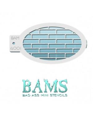 Bricks Bad Ass Mini Stencil