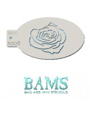 Rosie 3008 Bad Ass Mini Stencil