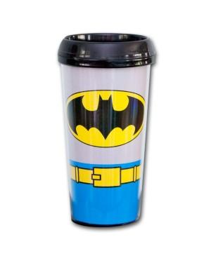 Batman Plastic Travel Coffee Mug