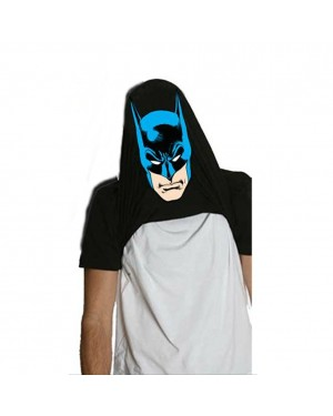 Batman Logo Flip-Up Face Reveal Logo T-Shirt