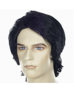 Fulton Reed or Shane Falco Black Mens Wig