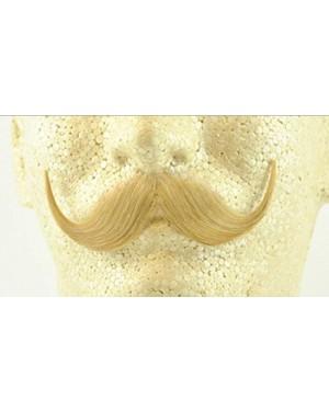 Blonde Handlebar Moustache