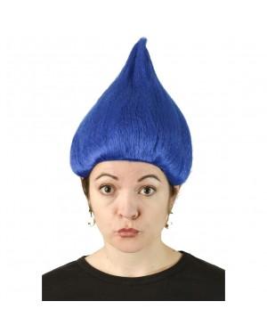 Blue Troll Wig