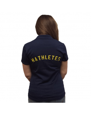 Cady Heron's Mathletes Womens Polo T-Shirt