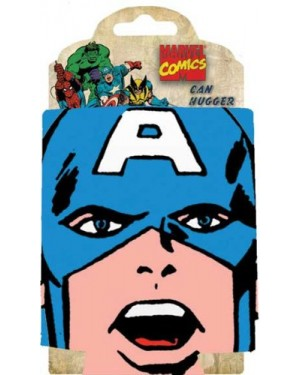 Captain America Face Can Cooler Koozie