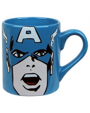 Captain America Face Coffee Mug