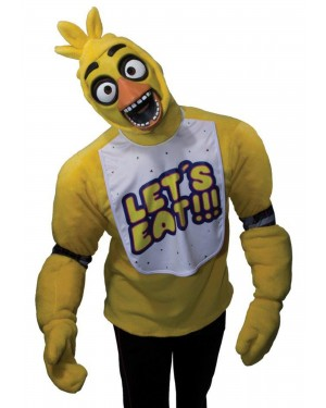 Chica Adult Costume Five Nights At Freddy's