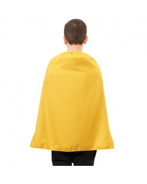 Child Yellow Superhero Cape 28""
