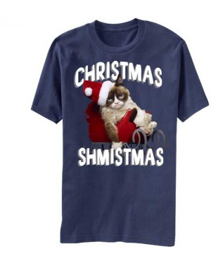 Christmas Shmistmas Grumpy Cat T-Shirt
