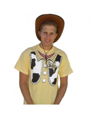 Sheriff Woody T-Shirt Costume