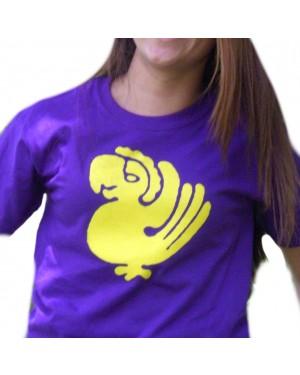 Purple Parrots Legends of the Hidden Temple Womens T-Shirt