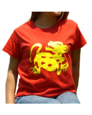 Red Jaguars Legends of the Hidden Temple Womens T-Shirt