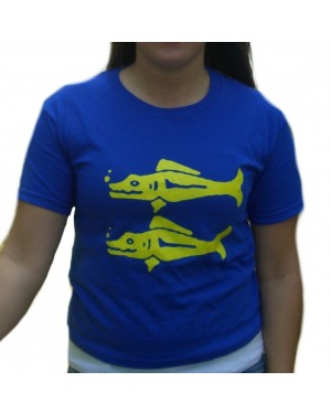 Blue Barracudas Legends of the Hidden Temple Womens T-Shirt