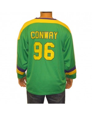 Charlie Conway #96 Ducks Hockey Jersey