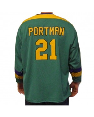 Dean Portman #21 Ducks Hockey Jersey