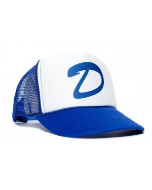 Clementine's D Blue And White Trucker Cap