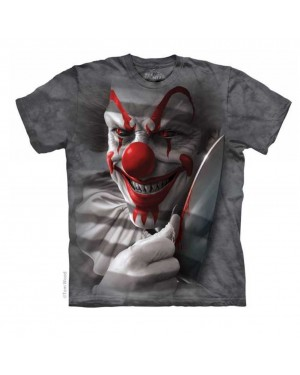Clown Cut Adult T-shirt