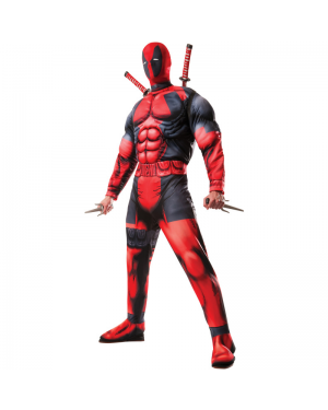 Deadpool Muscle Adult Costume