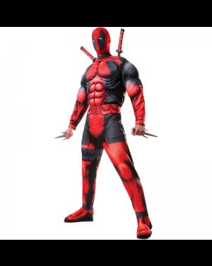 Deadpool Muscle Adult Costume