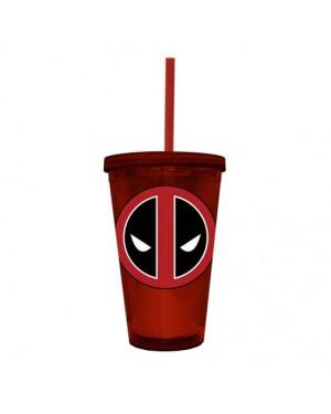 Deadpool Logo Acrylic Travel Cup