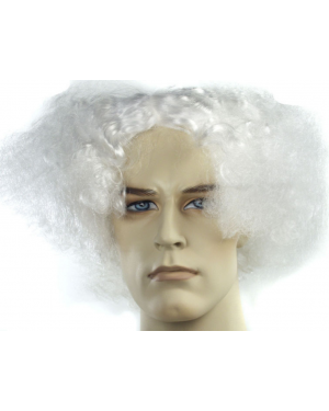 Doc Brown Or Mark Twain White Wig
