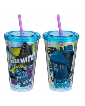 Doctor Who Acrylic Travel Cup