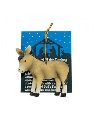 Legend of the Donkey Christmas Ornament