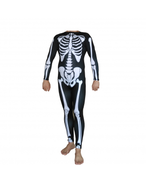 Skeleton Suit Adult Costume