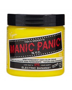 Electric Banana Yellow Manic Panic 4 Oz Hair Dye