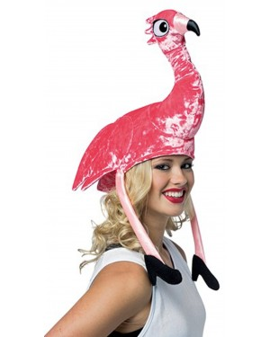 Deluxe Flamingo Hat