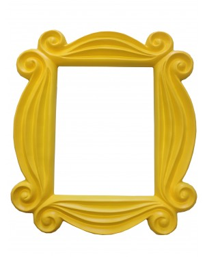 Monica's Yellow Peephole Picture Frame