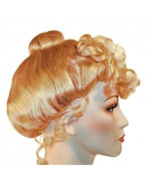 Strawberry Blonde Victorian Wig