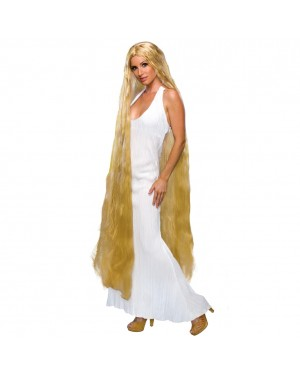 Lady Godiva Long Blonde Wig
