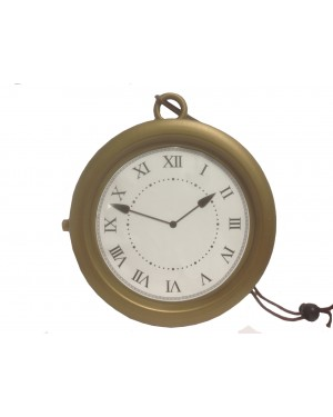 Gold Clock Necklace