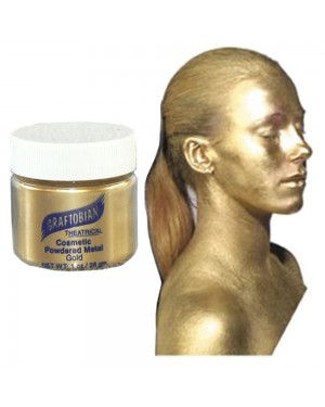 Gold Cosmetic Powdered Metals 1oz.