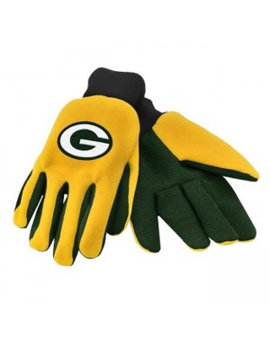 Green Bay Packers NFL Work Gloves (Pair)