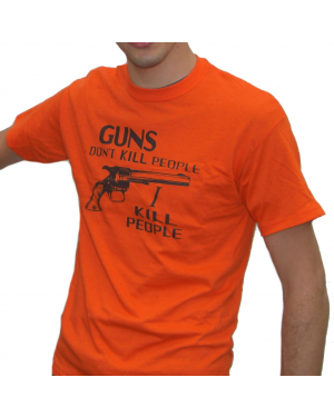 Mr. Larson's Guns Don't Kill People T-Shirt