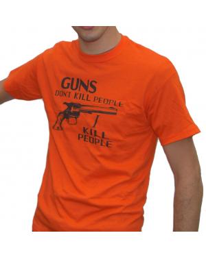 Mr. Larson's Guns Don't Kill People T-Shirt