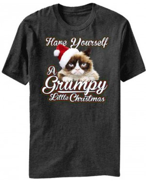 Have Yourself A Grumpy Little Christmas Grumpy Cat T-Shirt
