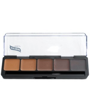 Neutral Palette #3 HD Glamour Creme Foundation Palette