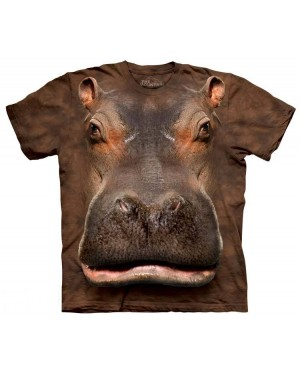 Hippo Face T-Shirt