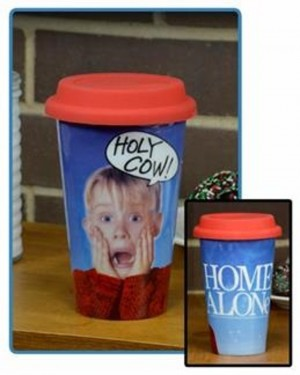 Holy Cow Home Alone 12 oz Travel Mug