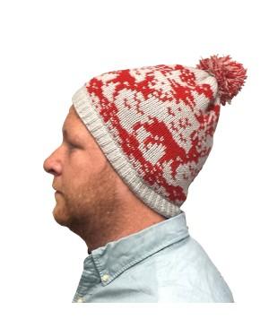Kevin McCallister Reindeer Grey Knit Beanie Hat
