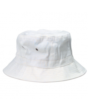 Hunter S. Thompson White Bucket Hat