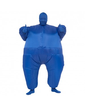 Blue Infl8s Fat Suit