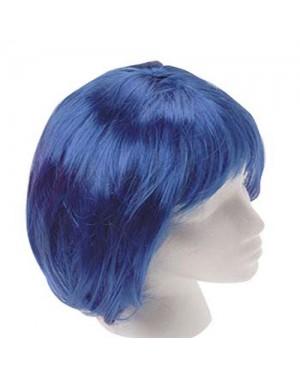 Blue Mod Wig