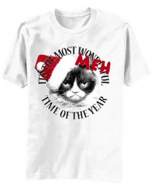 It's The Most Meh Time of Year Christmas Grumpy Cat T-Shirt