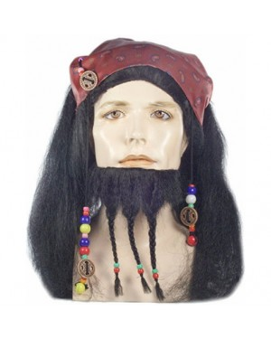 Captain Jack Sparrow Wig And Beard