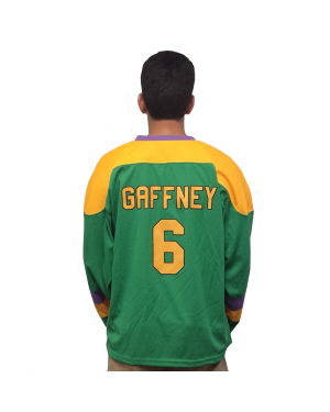 "Julie ""The Cat"" Gaffney #6 Ducks Hockey Jersey"