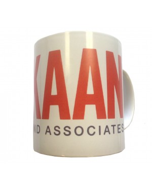 Kaan and Associates Wrapped Text Coffee Mug